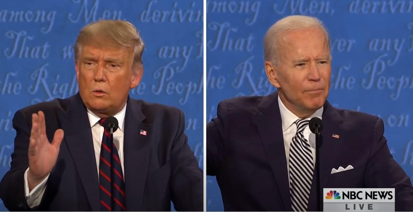 presidentieel debat vs